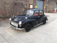 Classic 1958 Morris Minor MOT & Tax exempt