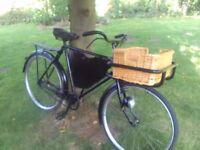 Vintage Hercules shop bike