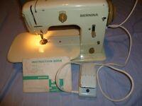Vintage Bernina 700 Zig Zag Cylinder arm sewing machine with Instruction Manual & Case