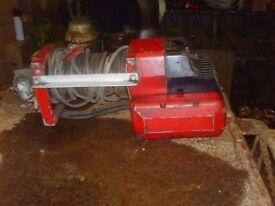 Husky recovery winch 24 volt