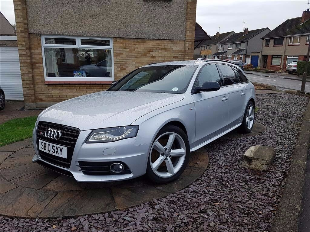 2010 audi a4 avant 2 0tdi 143bhp s line special edition silver in currie edinburgh gumtree. Black Bedroom Furniture Sets. Home Design Ideas