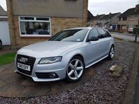 2010 Audi A4 Avant 2.0TDI (143bhp) S line Special Edition - Silver