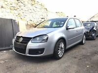 2007 VW GOLF MK5 1.4TSI GT SPORT N/S HEADLIGHT BREAKING FOR SPARE PARTS
