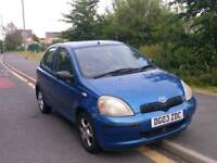 Toyota Yaris 1.0 5dr hatchback great runner cheap insurance bargain price for quick sale