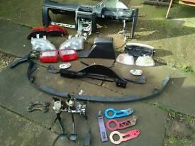 Civic EG Parts, b18, b16, d16, lights, dash, front lip, modified, spares repairs, honda vti