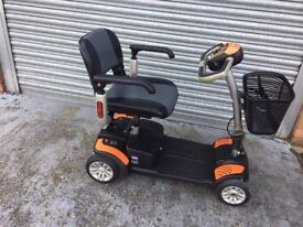 TGA ECLIPSE MOBILITY SCOOTER (B00T SIZE) AS NEW CONDITION