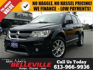 2013 Dodge Journey Crew Model - Rear Seat DVD- Back UP CAM - 7 P