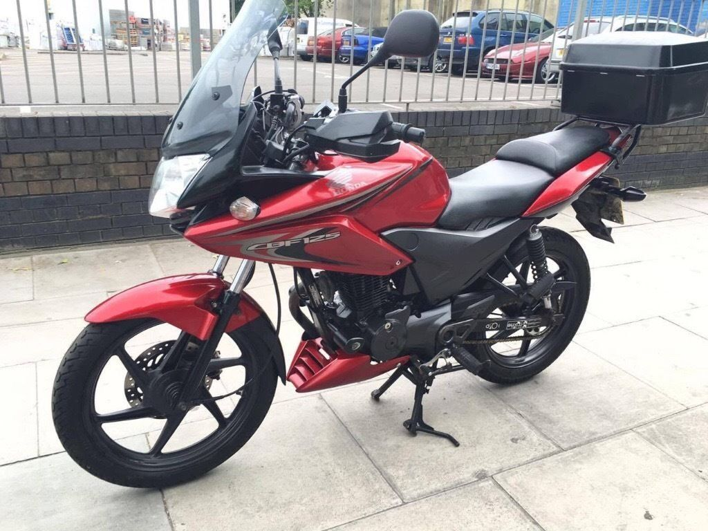 2013 honda cbf 125 commuter learner red immaculate condition in seven sisters london gumtree. Black Bedroom Furniture Sets. Home Design Ideas