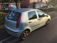 2003 fiat punto 1.2 active 5 door facelift,6 months m-o-t,ideal family car £375 ovno