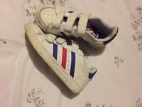 Girls Adidas trainers size 11