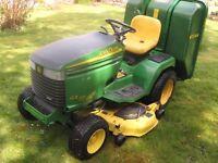 John Deere 355 Diesel Ride on Lawnmower