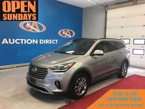 2017 Hyundai Santa Fe XL LUXURY! 3 ROW SEATING! SUNROOF! LEATHER