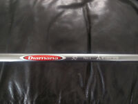 """Diamana Red Board 50g Regular Flex 43.5"""" Driver shaft,fitted with Taylormade M1/M2 adapter"""