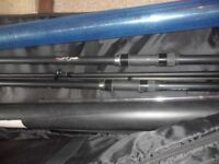 2 CARP RODS & KORUM & MAVER QUIVER & MATCH RODS