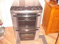 Zanussi Electric Double Oven Cooker