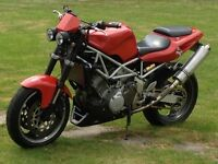 Yamaha trx850 streetfighter.