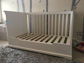 Kidsmill Marseille White - Cot Bed