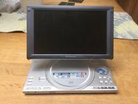 Panasonic DVD LX8 player. 9 inch display