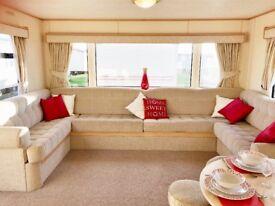 HUGE Static Caravan, Sited in N.Norfolk, nr wells,sheringham. Site Fees included. 200m to beach.