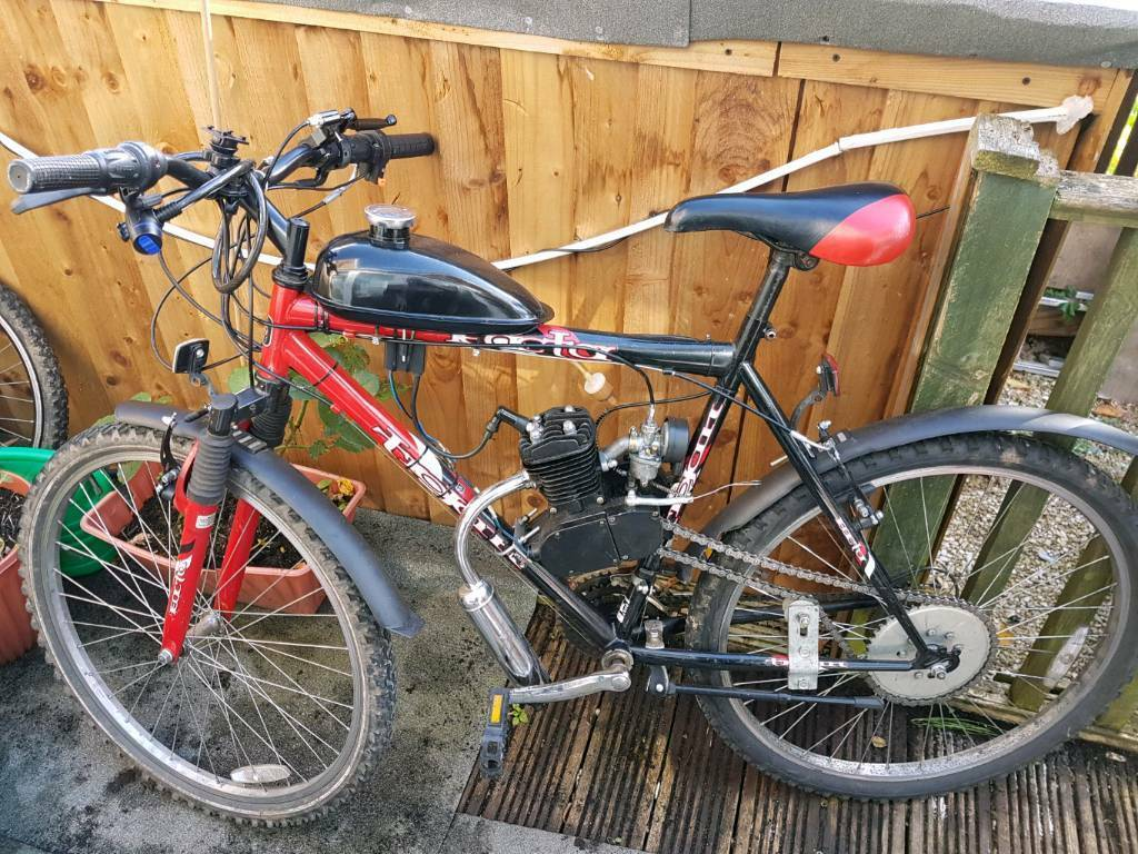 Bike with 80cc engine