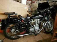 Royal enfield 350 bullet motorbike