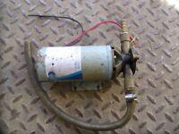 Jabsco Steel water pump 12v