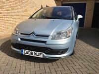 ***BARGAIN*** CITROEN C4 VTR+ 1.6 HDI DIESEL AUTOMATIC 2008 10 MONTHS MOT FSH £30 ROAD TAX NEW TYRES