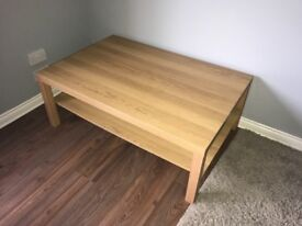 Wooden TV unit/coffee table