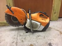 "STIHL TS410 PETROL DISC CUTTER 12"" .DIAMOND BLADE FITTED"
