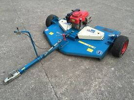 Wessex AR150 Rotary Mower can be pulled by a quad bike