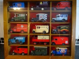 Lledo/Days Gone collection of 15 various model vans. C/W display box. Original Packaging included