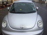 VW Beetle, Silver, 1600 CC