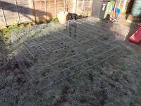 large rabbit run / animal cage, collapsible