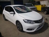 Nissan PULSAR 1.5 N-TEC DCI,5 door hatchback,only 7,500 miles,free road tax,Sat Nav,all the extras