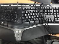 Microsoft keyboard ergonomic
