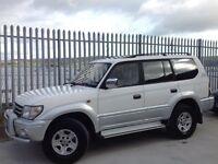 TOYOTA LAND CRUISER PRADO 3.0 TX LIMITED TD AUTO 4X4 WHITE ++ FACE LIFT!!! ++