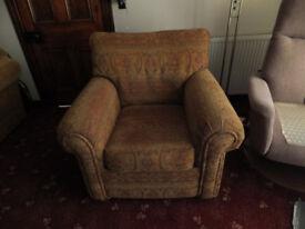 Armchair - Safari chair in Cognac