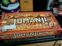 Jumanji original board game 1995 vintage sort after
