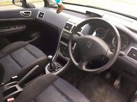 Silver Peugeot 307 2.0 HDI Diesel