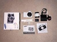 Samsung NX1000 20.3MP SMART Camera, White (20-50mm Lens Kit)