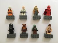 Lego Star Wars magnetic characters x 8