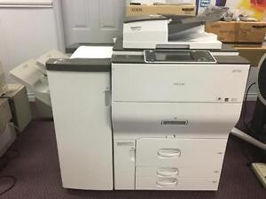 Ricoh MP C8002 Color Copier Production Printer Copy Machine Print Shop Colour Business Commercial Copiers Printers SALE
