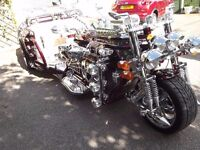 Stunning Jaguar show trike swap barge, static, motorhome, land/house by the sea?
