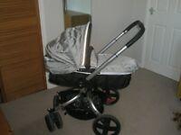 Mothercare Spin pram/ carrycot/ pushchair
