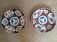 Pair of Imari Plates