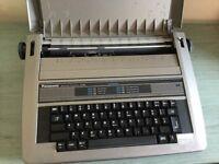 PANASONIC KX-R190 ELECTRIC TYPEWRITER FOR SALE