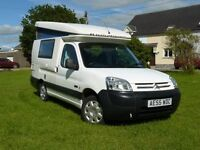 Romahome HYLO Duo 2 Berth Camper Van Citroen Berlingo 1.9 Diesel - 2006 model