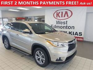 2014 Toyota Highlander LE AWD, FIRST 2 MONTHS PAYMENTS FREE!!