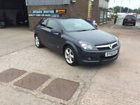 2010 60 VAUXHALL ASTRA 1.6 SRI 3 DOOR COUPE WITH ONLY 81000 MILES WARRANTED,EXCELLENT THROUGHOUT,