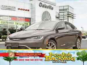 2015 Chrysler 200 C | AWD | NAVI | PANORAMIC ROOF | LEATHER |